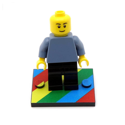 Little Rainbow Baseplate - Custom Printed Baseplate
