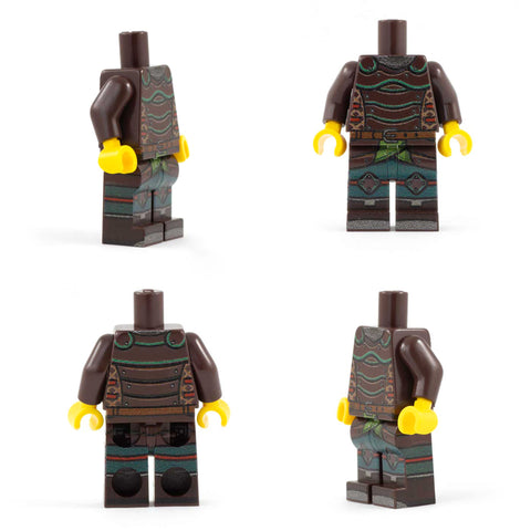 Ranger (DND / RPG / Dungeons & Dragons) - Custom LEGO Minifigure Torso and Legs