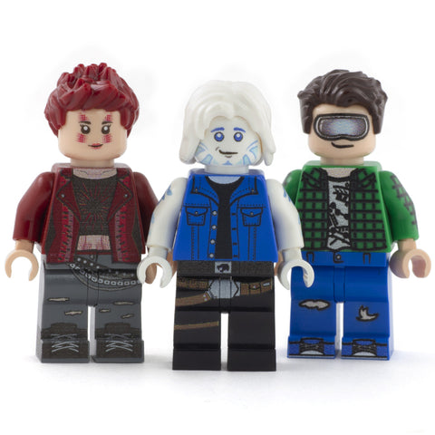 LEGO Ready Player One - Custom Design Minifigures (Art3mis / Artemis, Wade Watts and Parzival)