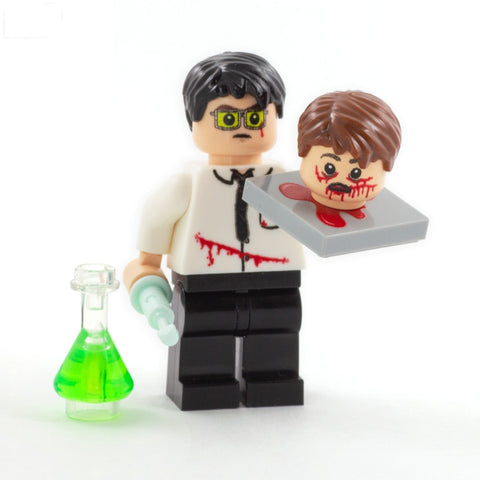 Herbert West, Re-animator - Custom LEGO Minifigure