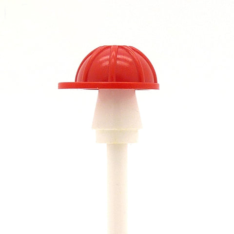Red LEGO Hard Hat for your Minifigure (Available in Various Colours)