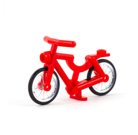 Red LEGO Bike