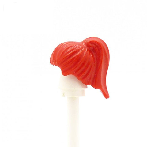 Bright Red Ponytail LEGO