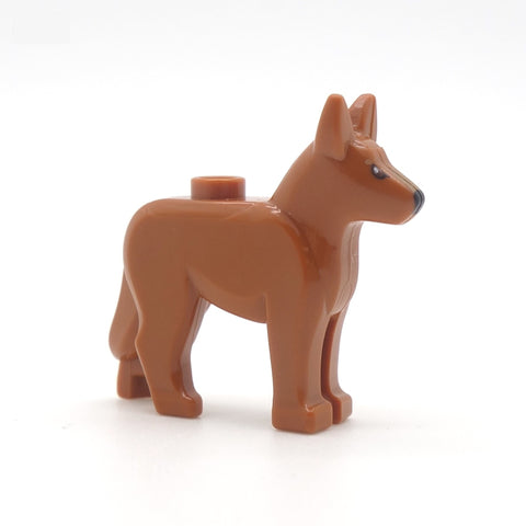 LEGO Alsatian Dog (reddish orange)