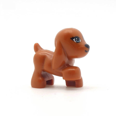 LEGO Little Reddish Brown Dog