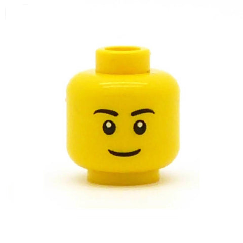 Regular Closed Smile LEGO Minifigure Head