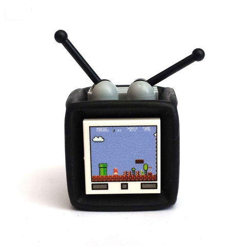 custom lego retro TV