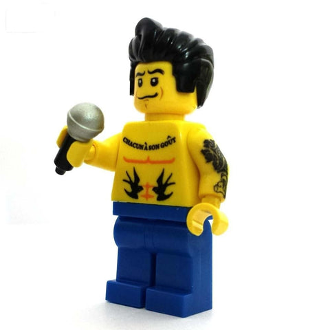 Rock DJ Custom LEGO Minifigure