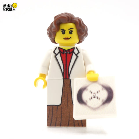 Rosalind Franklin - Custom Design LEGO Minifigure