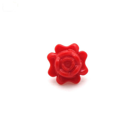 LEGO Red Rose - LEGO Minifigure Accessory