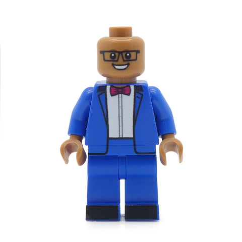 RuPaul, Drag Superstar (not in drag) - Custom LEGO Minifigure, Drag Race