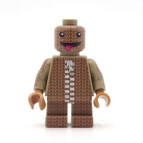 Little Big Planet's Sackboy  Custom LEGO Minifigure