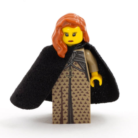 Medieval Fantasy, Lady Sansa - Custom Design Minifigure