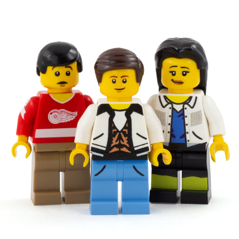 Save Ferris - Custom Design Minifigure Set