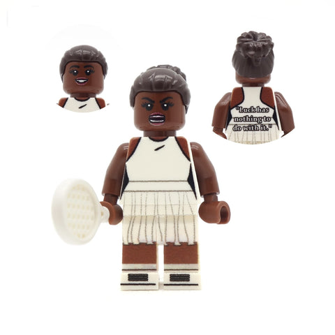 Serena Williams - Custom LEGO Minifigure
