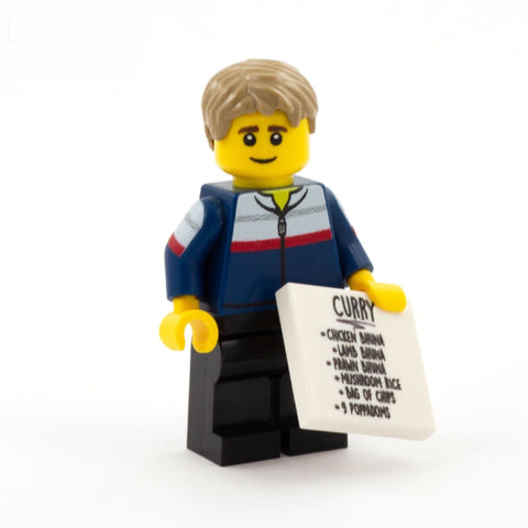 Smithy, What's Occurin' - CUSTOM DESIGN LEGO MINIFIGURE SET