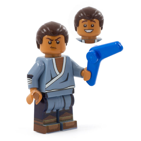LEGO Sokka and boomerang, Avatar: The Last Airbender - Custom Design minifigure