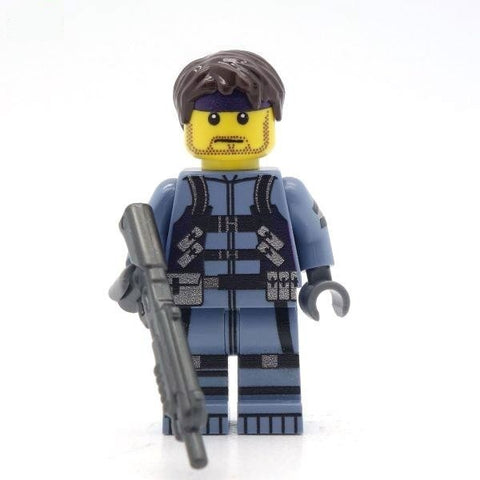Metal Gear Solid Solid Snake Custom LEGO Minifigure