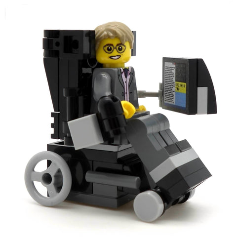 Stephen Hawking - Custom Design Minifigure