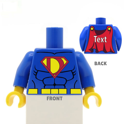Super Dad - Custom LEGO Torso