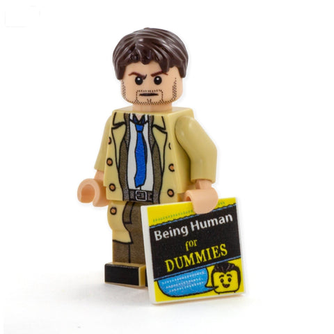 Castiel, Supernatural Set - Custom LEGO Minifigures
