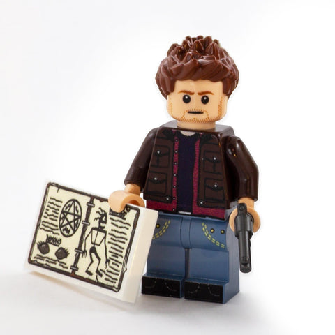 Dean Winchester, Supernatural Set - Custom LEGO Minifigures
