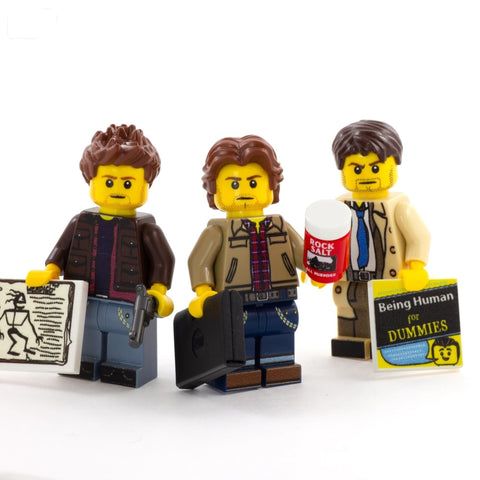 Supernatural Set - Custom LEGO Minifigures