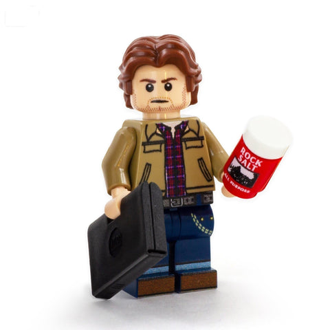 Sam Winchester, Supernatural Set - Custom LEGO Minifigures