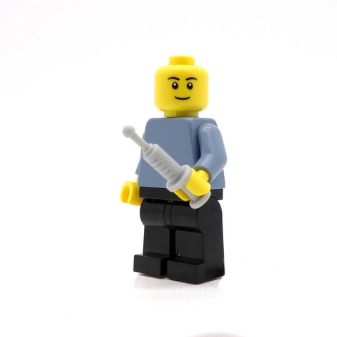LEGO Syringe - Minifigure Medical Accessory