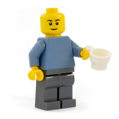 White teacup - Minifigure Accessory
