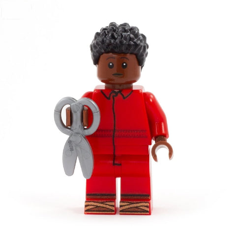 Red the Tethered - Custom Design Minifigure Set