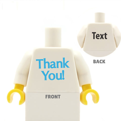 Thank you! - Custom LEGO Torso