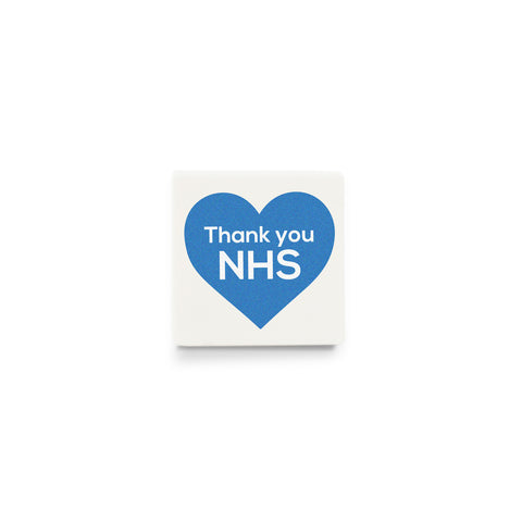 Thank You NHS Poster - Custom Design LEGO tile