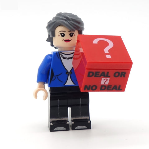 Theresa May - Custom LEGO Minifigure
