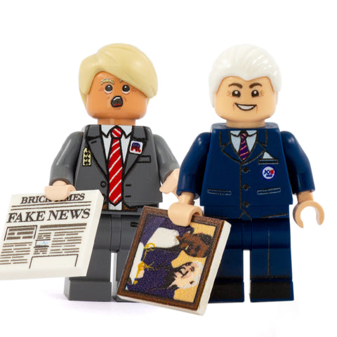 Trump & Biden - Custom Design Minifigure Set
