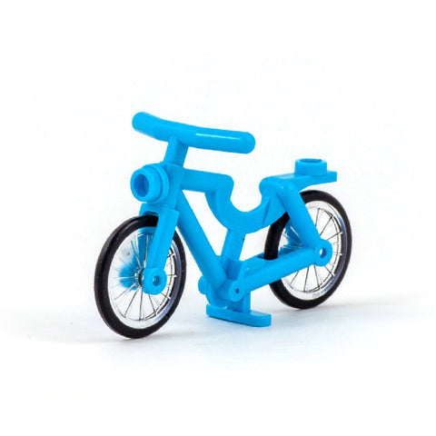 Turquoise LEGO Bike - Minifigure Accessory