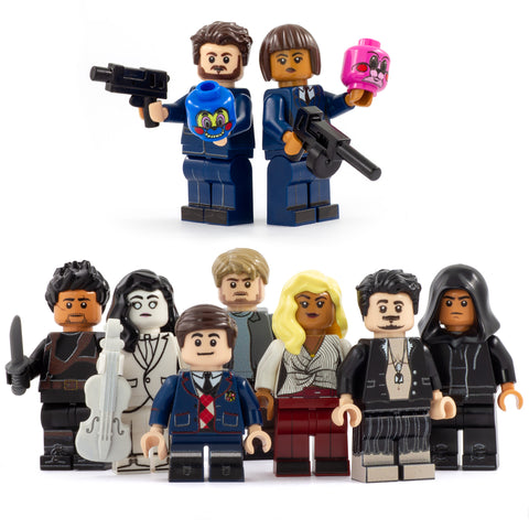 LEGO Umbrella Academy - Custom Printed Minifigures