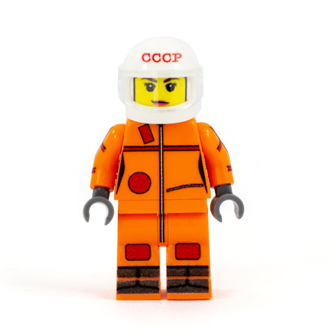 Valentina Tereshkova, russian astronaut and first woman in space - Custom Design LEGO Minifigure