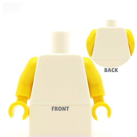 Men's Vest Top (Various Colours) - Custom Design Minifigure Torso