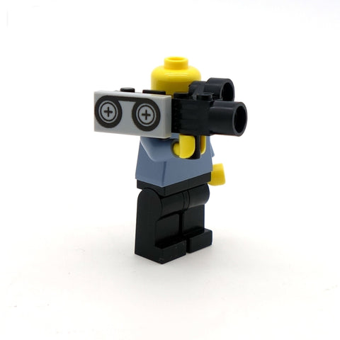 Film Crew Starter Pack - Custom Tiles and LEGO Minifigure Accessories