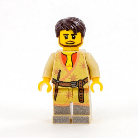 Oberynn Martell, the Viper, Game of thrones - custom LEGO minifigure