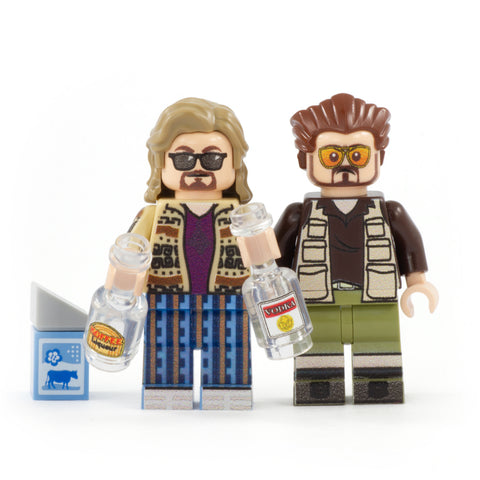 The Dude and Walter - Custom Design Minifigure