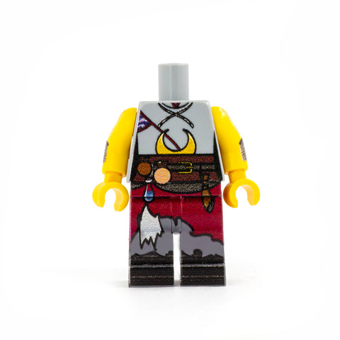 Warlock Outfit (Regular Legs, Various Colours Available) - Custom Design LEGO Minifigure Legs and Torso for Dungeons & Dragons / DND / Role Play / RPGs