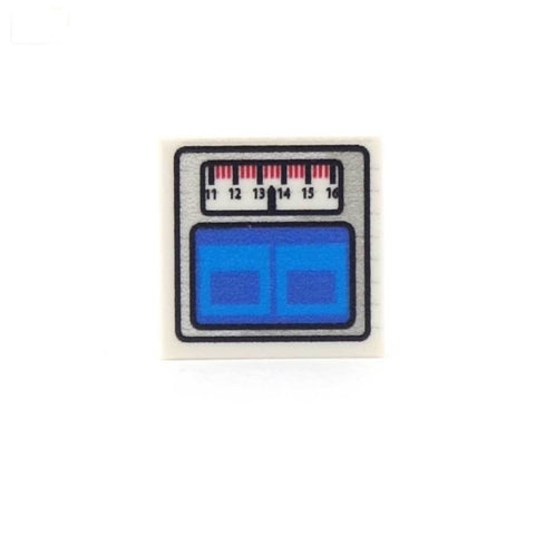 Weighing Scales - Custom Printed LEGO Tile
