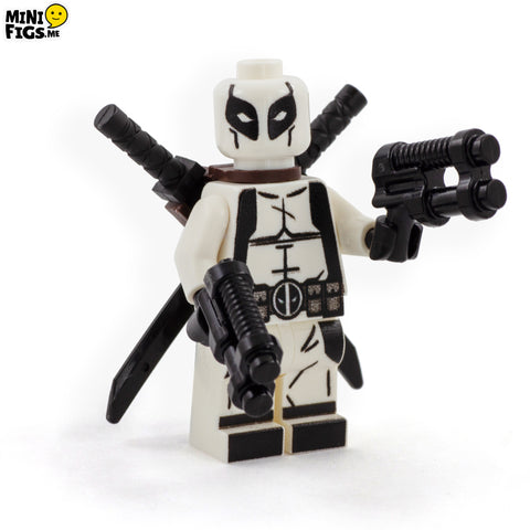 Exclusive White Suited Antihero - Custom LEGO Minifigure