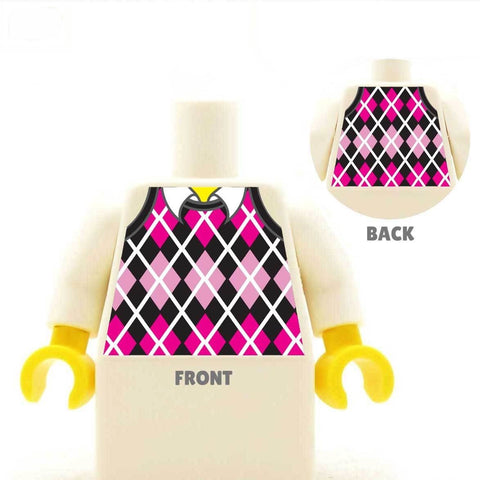 Golf Jumper - Custom Design Minifigure Torso