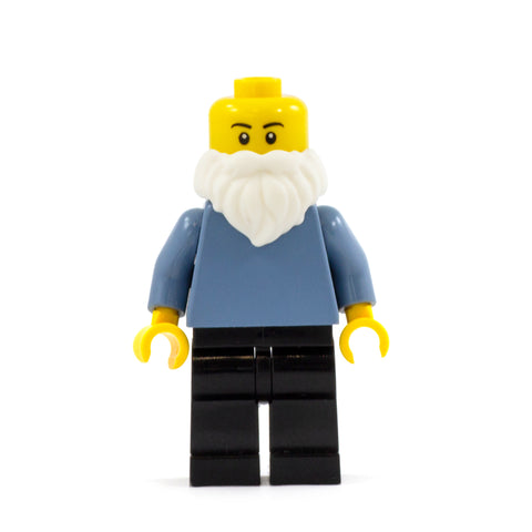 White Santa LEGO Minifigure Beard