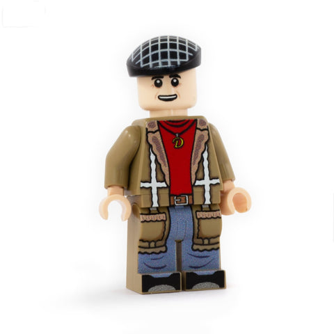 Del Boy (Only Bricks and Horses) - Custom Design Minifigure