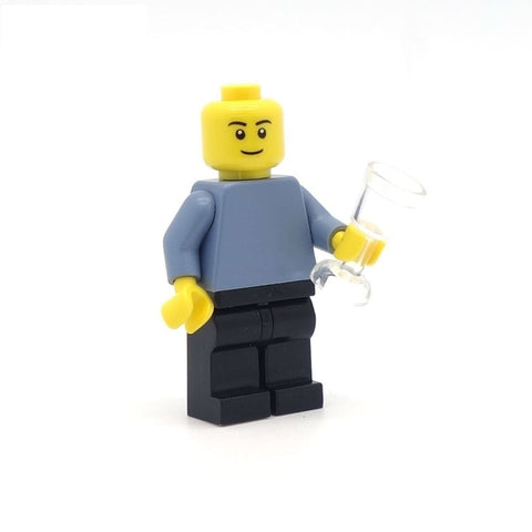 LEGO Wine Glass - Minifigure Accessory
