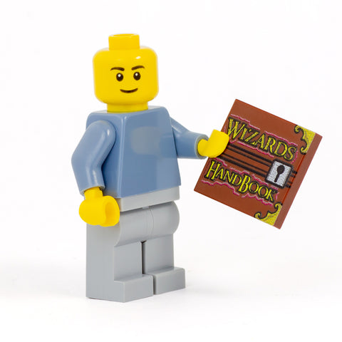 Wizard's Handbook - Custom Design LEGO Tile